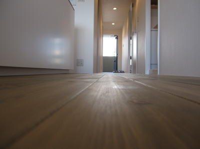 マンションリノベーション 無垢の床