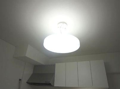 マンションリフォーム 照明 軽量より明るく