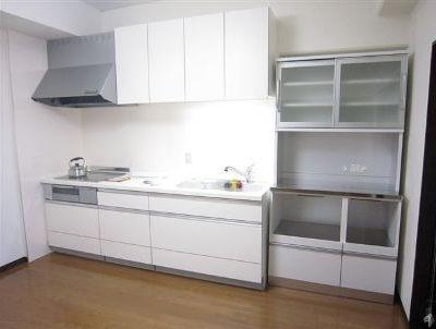 マンションリフォーム キッチン収納